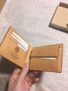 GANZO 財布 ブライドルレザー