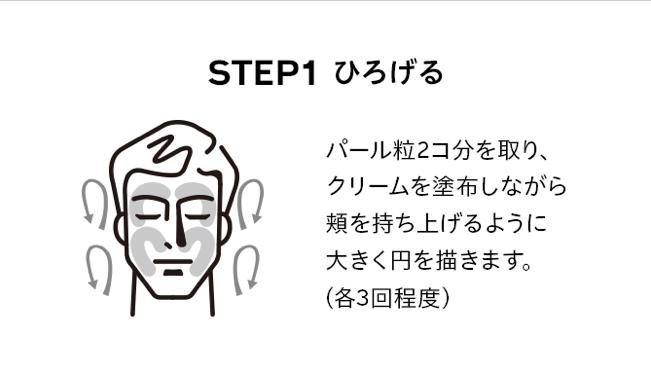 資生堂 洗顔方法1