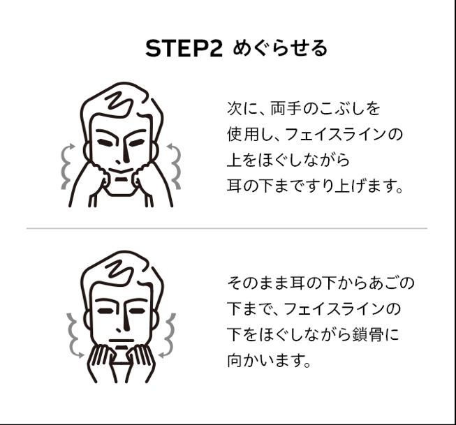 資生堂 洗顔方法2