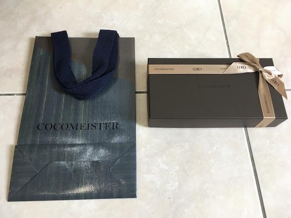 ココマイスタープレゼント用紙袋