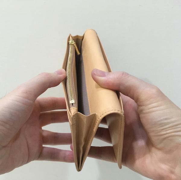 ココマイスター パティーナ 長財布