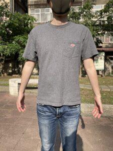 ダントン Tシャツ サイズ感