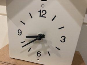 無印良品 鳩時計