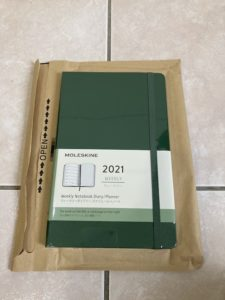 モレスキン2021年 手帳