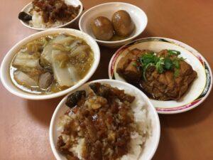 台湾 ルーロー飯