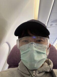 機内での様子