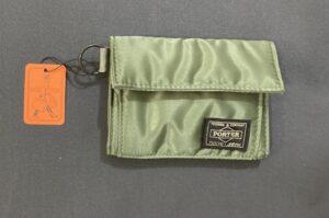 ポータータンカーシリーズ二つ折り財布 カーキー(セージグリーン)