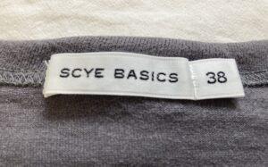 SCYE Tシャツ サイズ感